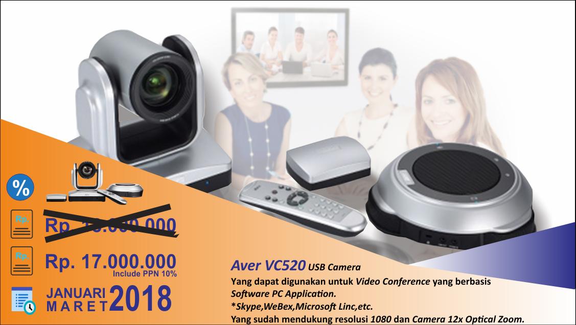Promo Aver VC520 Jan-Mar 1
